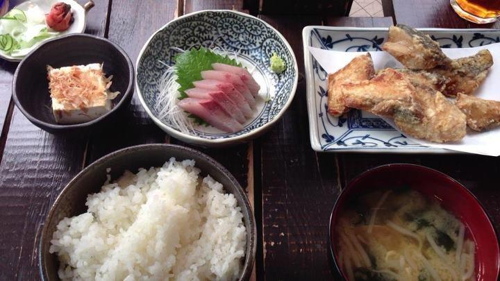 広尾 魚定食ランチ