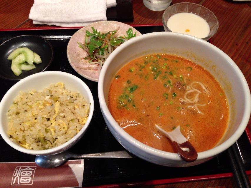 恵比寿 担々麺 ランチ