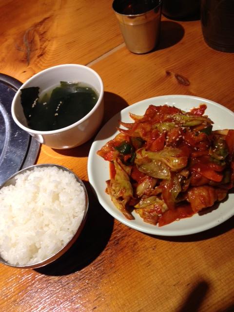 恵比寿 韓国料理ランチ