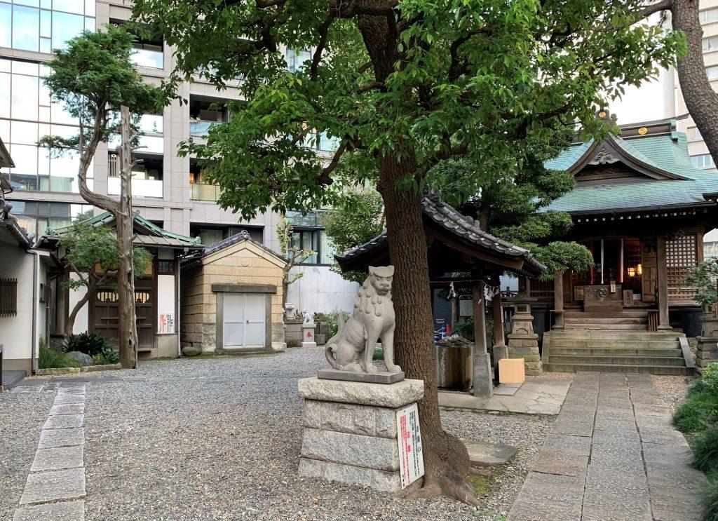 広尾稲荷神社 アクセス