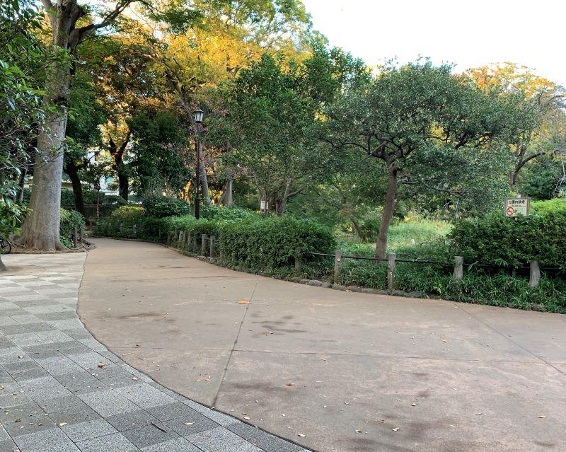 有栖川宮記念公園 アクセス